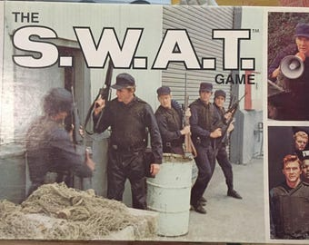 1976 // THE S.W.A.T GAME // Vintage Milton Bradley Company Game