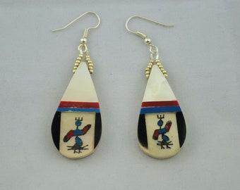 Southwest Kachina Earrings