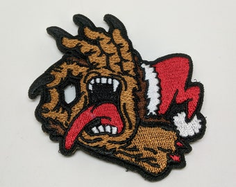 Krampus Gotcha! Embroidered Morale Patch