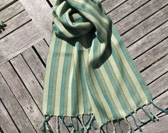 Handwoven Bamboo and Tencel Scarf