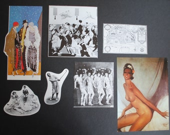 20 Images of the Twenties Paper Pack of Ephemera for Junk Journals, Scrapbooks, Collage, Altered Art, Paper Crafts
