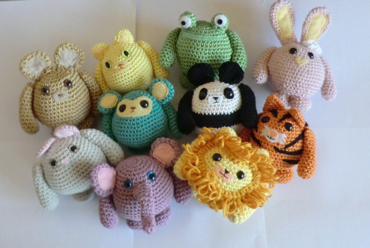 Fat friends animal amigurumi pdf crochet patterns all 10 cat zoom bankloansurffo Choice Image