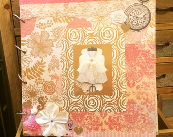 Bridal Shower Scrapbook Album