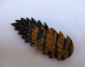 LEA STEIN Lovely VINTAGE Leaf Brooch