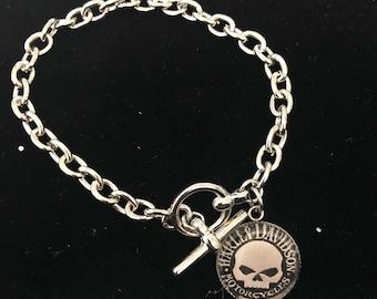Harley Davidson Charm Bracelet