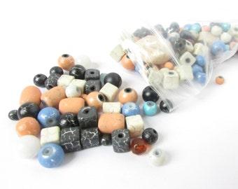 Bead Mix - Bag of Beads - 3 oz Bead Mix - Bead Soup - Destash Beads - Jewelry Supply - Loose Beads - Assorted Beads - Bead Sale -