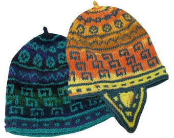 Keys & Coins Andean-Style Hat- PDF Download