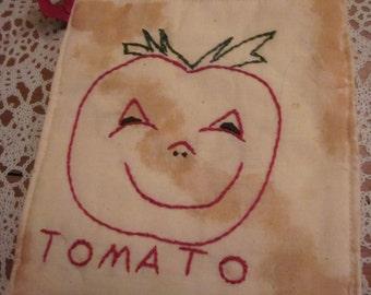 Cute Tomatoe Face Hotpad