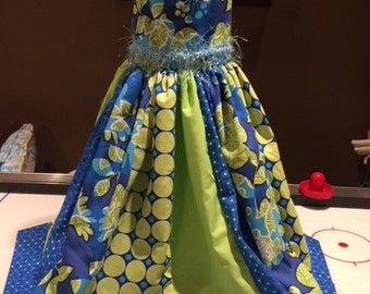 Little girls Party Dress/ tea party/ birthday dress