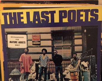 The Last Poets The Last Poets Vinyl LP 1971