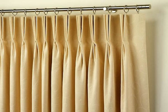 decorations pleat pinch brown ideas curtain curtains home