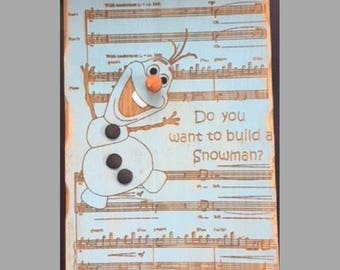 Who Wants to build a Snowman