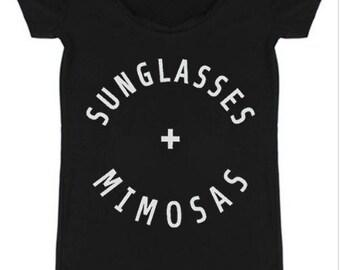 Sunglasses & Mimosas Tee