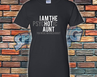 Hot Aunt Ladies Tee