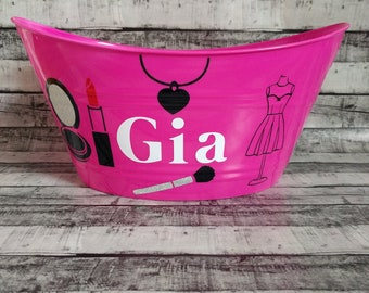 Personalized Easter Basket, Personalized Basket, Easter, Egg hunt, East Egg hunt, Basket, Makeup basket
