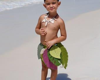 Maui Skirt, Moana Maui Costume, Maui Hook, Moana Tooth Necklace, Demigod Fish Hook, Hawaiian Fish Hook, Maui Necklace