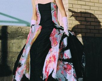 The Superhero Gown---Custom Made Wedding Dresses