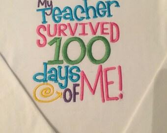 100 Days of School survival shirt!!