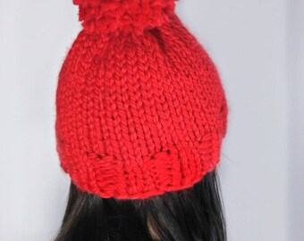 The Pom Hat in Red