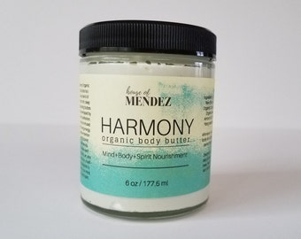 Harmony - Organic Body Butter [6oz]