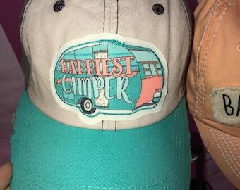 Happiest camper hat