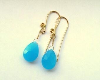 Sky Chandelier  Earrings Drops Dangles Jewelry Briolette Elegance Swingy Contemporary Luxe Trendy