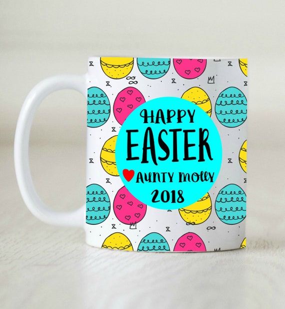 Easter gift happy easter gift gift from aunt baby reveal like this item negle Gallery