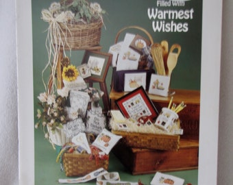 Gift Baskets Counted CrossStitch by Sue Hillis Designs