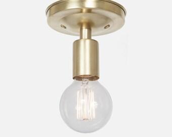 Brass Ceiling Light Flush Mount Ceiling Light Fixture Flush Mount Ceiling Lighting Kitchen Lighting Kitchen Light Bathroom Vanity Light