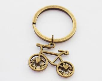 Bike Keychain, Ride On Keychain, Bicycle Keychain, Cycling Keychain, Cyclist Gifts, Bicycle Accessories, Bike Gifts, Bike Accessories