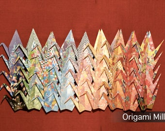 6 inch patterned cranes (1000 pieces in 45 different patterns)