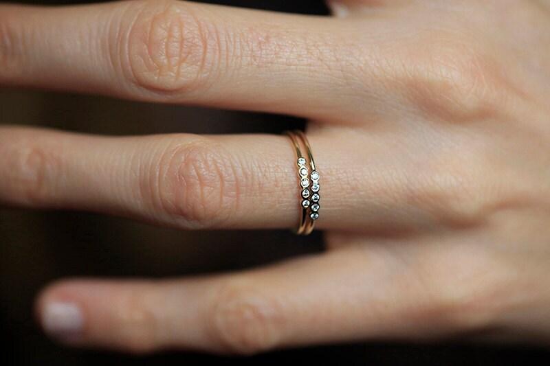 Half Eternity Diamond Ring Half Eternity Band Gold Diamond