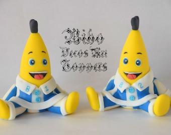 Bananas in pyjamas etsy - Banana cake decoration ...