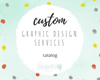 Catalog/Calendar Design- Custom Graphic Design Services- Digital
