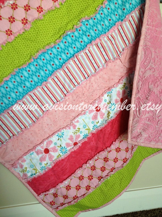 Strip Rag Quilt Sewing Patterns Simple Quilt Pattern Easy