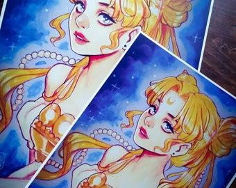 Serenity 11x17 Sailor Moon Poster Size Glossy Print