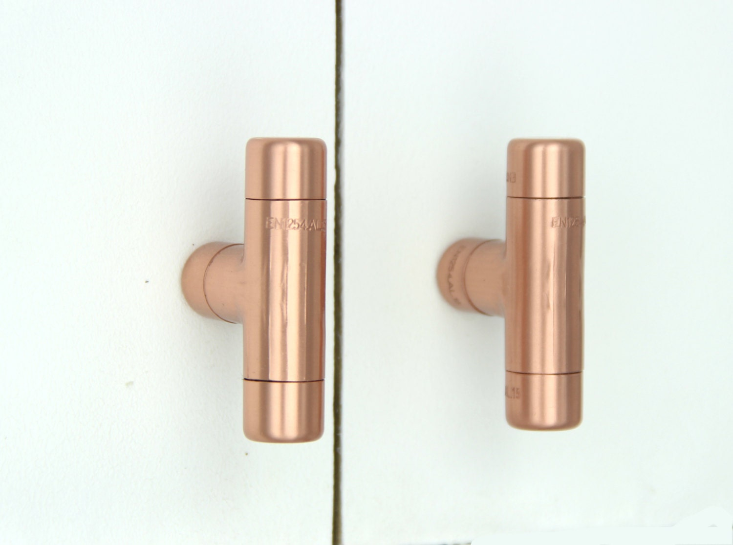 🔎zoom. modern copper t knob contemporary drawer pull handle knob