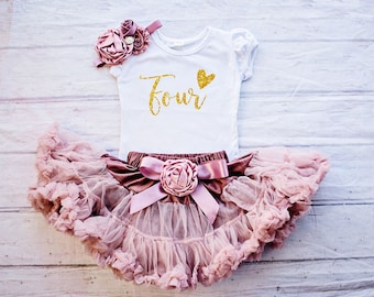 4th Birthday Outfit, Fourth Birthday Outfit Girl, Birthday Shirt 4, Birthday Shirt Girl, Birthday Outfit 1, Baby Girl Clothing