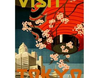 TOKYO 1S- Handmade Leather Journal / Sketchbook - Travel Art