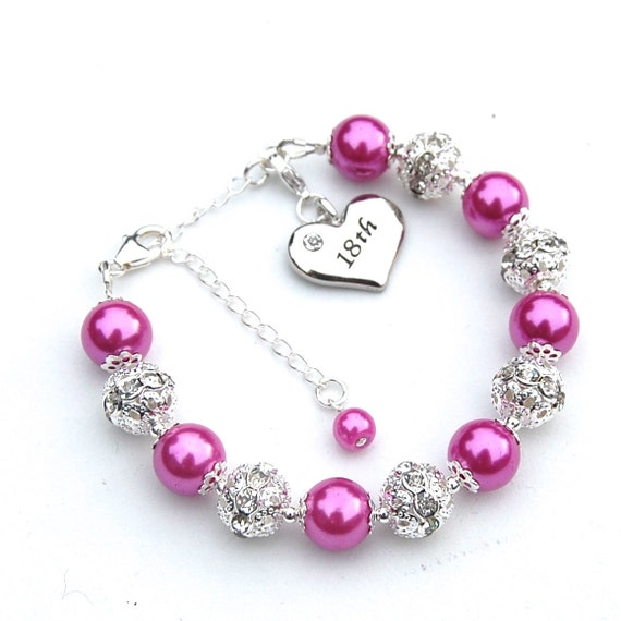 bracelet asp birthday birthstone card p mount on girls jewels