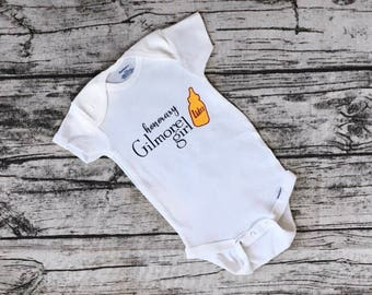 Honorary Gilmore Girl One Piece with Luke's Diner Baby Bottle!