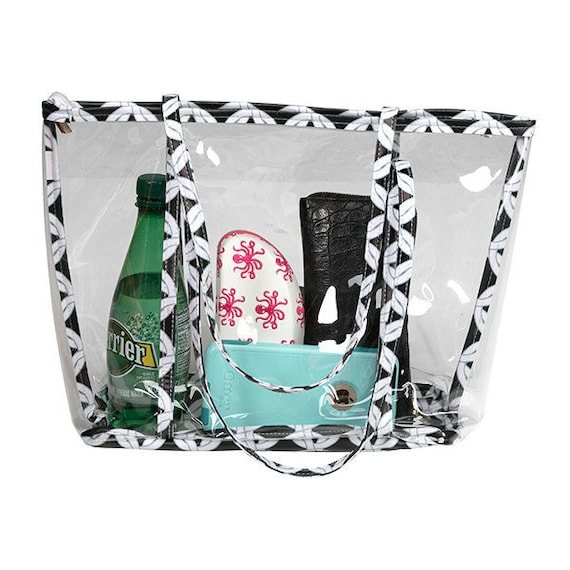 Clear Stadium Tote for Beach, Concerts, or Games