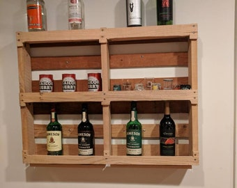 Pallet wine / bottle rack