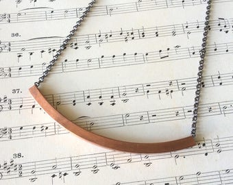 Copper Arch Necklace