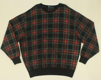 Polo Ralph Lauren Sweatshirt Vintage Polo Ralph Lauren Sweatshirt Oversize Sweatshirt Ralph Lauren Sweatshirt