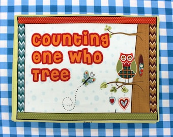 Owl Wonderful Hoot Hoot Counting Children's Fabric Book