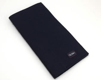 Felt pocket Insert for Standard Fauxdori Traveler's Notebook All Black