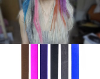 6 Best Temporary Dark Grey Ombre hair Dye for dark and light hair - Set of 6 | DIY Grey Ombre hair Chalk for easy and simple hair coloring