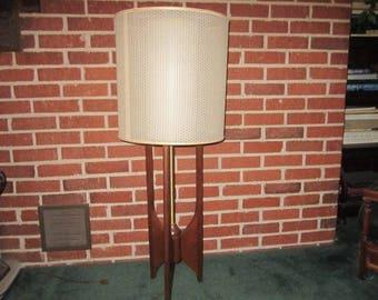 Vintage Adrian Pearsall Mid Century Danish Modern Fabulous Teak Lamp