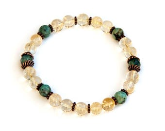 citrine bracelet, citrine jewelry, yellow bracelet, birthstone bracelet, citrine, gemstone bracelet, bracelet, boho bracelet, yellow citrine